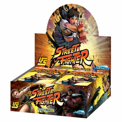 NEW Street Fighter UFS Card Game Boosters: 3 Packs