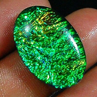 "22.10 Cts Aaa+ Classical Multi ""australian Triplet Opal"" Gemstone Loose Cabochon"