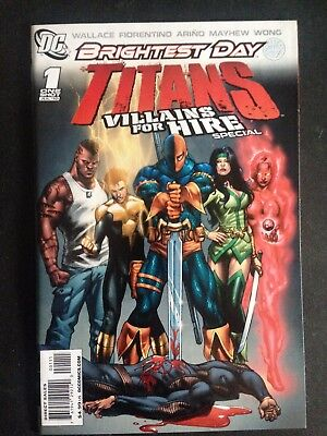 "Titans: Villains for Hire Special #1 (2010) NM ""Brightest Day Tie-In"""