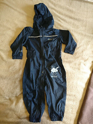 Regatta toddler puddle suit (12-18 months)