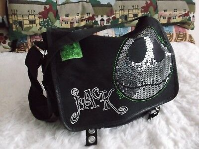 Jack Nightmare Before Christmas Bag Disney Store Exclusive With Adjustable Strap
