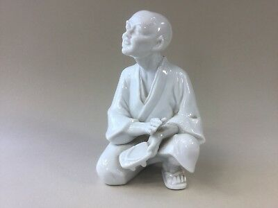 Japanese Blanc de Chine Figurine of an Old Man
