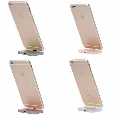 Aluminium Desktop Charging Dock Mount Stand Station Charger for Apple iPhone XS,