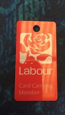 Labour Party Conference 2017 Merchandise Key Fob Labour supporters BN