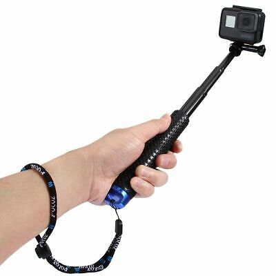 Extendable Selfie Stick Handheld Monopod for GoPro HERO 6 5 6 4 3+/3 Session HD