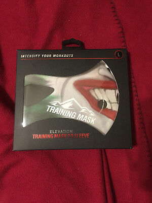 Elevation Training Mask 2.0 Sleeve Size Large New!