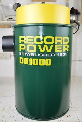 Record Power DX1000 Dust Extractor 2 meter hose, 45 Litres, 1KW Motor