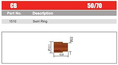 X1 Swirl Ring Vespel (not the cheaper ceramic) Fit CEBORA CP-50 P70 / C1510
