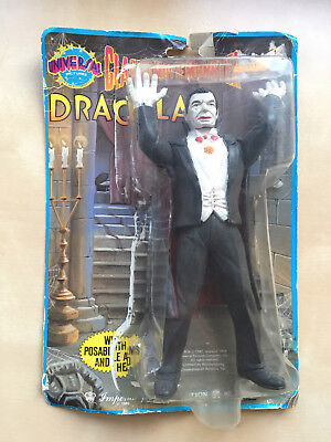 Universal Monsters DRACULA Action Figure Imperial Toy 1986  Frankenstein Wolfman