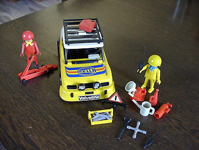 Playmobil Rallye Racing Pkw Auto Autorennen Hella Racing Team 3524 1980