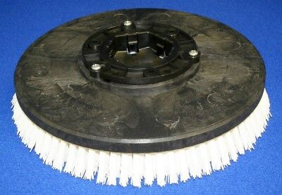 "430034 Minuteman  Rotary Scrub Brush 16"" Nylon 6 Point Clutch Plate!!"