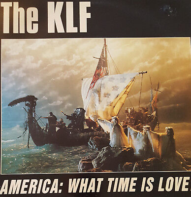 """The KLF – America: What Time Is Love? 12"""" Vinyl"""
