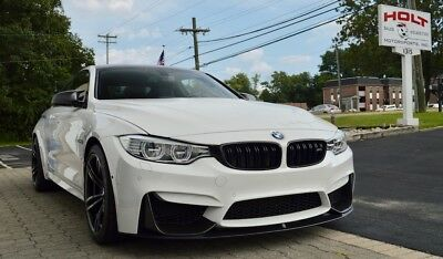 2016 BMW M4 Coupe 2016 BMW M4, Alpine White over Black Leather/Carbonstructure Anthracite Cloth!!!