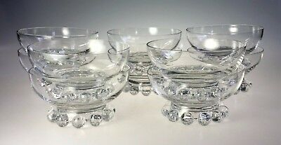 Imperial Glass Candlewick Lot of 10 Low Sherbets