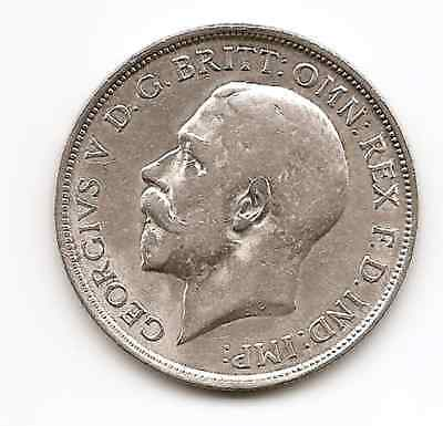Great Britain 1918 George V  Silver  Florin