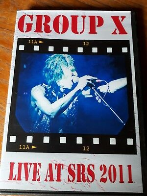 Group X ex Hawkwind members live at sonic rock 2011 DVD R