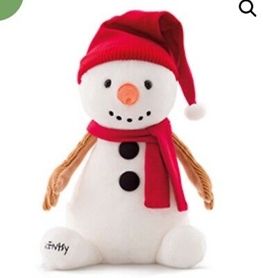 NIB SAMMY THE SNOWMAN SCENTSY BUDDY With Surprise Scent Pak SOLD OUT