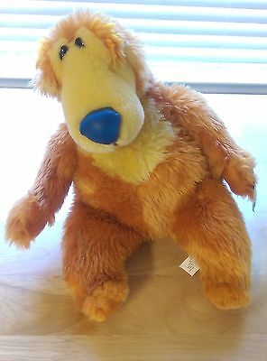 "Disney Bear in the Big Blue House 12"" Plush Nanco Jim Henson Stuffed"