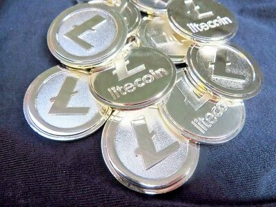 1 x Litecoin (LTC) Cryptocurrency Invest Bitcoin - Sent Securely To Your Wallet