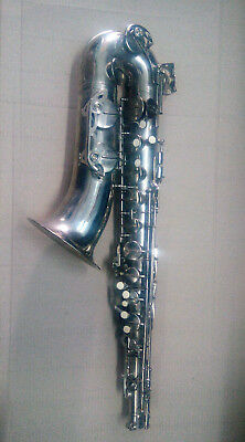 Vintage USSR Brass Pipe Sax Moscow