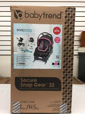 New Baby Trend Secure Snap Gear 32 Infant Car Seat ‑ Ariel 4219