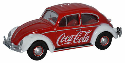 Oxford Diecast Volkswagen Beetle Coca Cola 76VWB009CC OO Scale (Suit HO also)