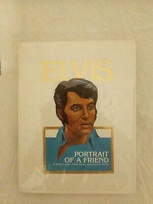 Elvis portrait of a friend Signed book