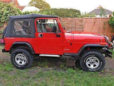 Barn find Jeep Wrangler 4 ltr YJ, Drystored 10 years, 4X4 Soft top classic