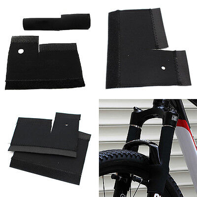 1Pair/2Pc Cycling MTB Bike Bicycle Front Fork Protector Pad Wrap Cover Set TB