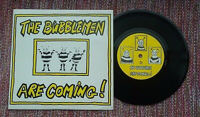"The Bubblemen Are Coming   7"" Bauhaus Love & Rockets"