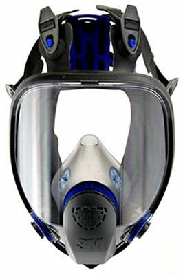 3M Ultimate Fx Full Face Respirator, Size Medium Fits Most, Ff-402 Mask,reusable