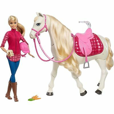 Barbie DreamHorse and Caucasian Doll