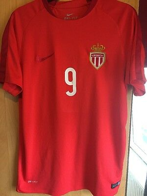 As Monaco Away Shirt Size Medium By Nike #9 Vagner Love