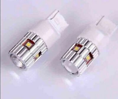 2X 25w HIGH POWER CREE LED 7440 T20 WHITE CANBUS REVERSE/BRAKE CAR LIGHT BULBS