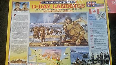 new vintage d-day jigsaw puzzle