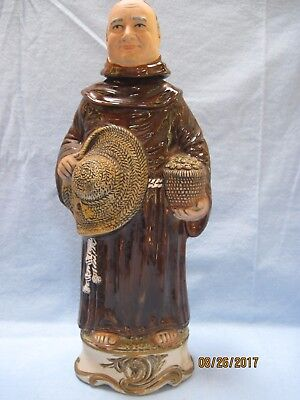 Vintage Frangelico Liqeur Collectible Ltd Edition Monk Decanter Great Condition
