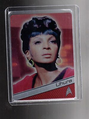 STAR TREK - 50TH ANN - METAL - NICHELLE NICHOLS AS LT UHURA - M5 -  NrMt