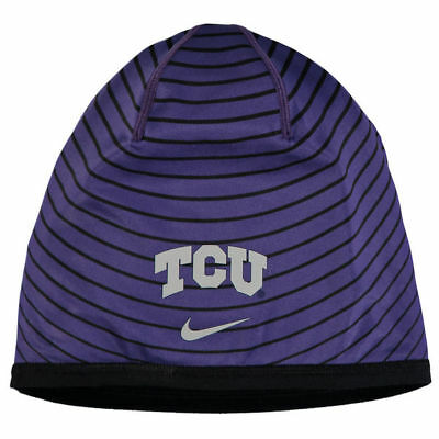 cheap for discount aba8e c02f1 new nike TCU horned frogs sideline training dri-fit beanie hat cap football