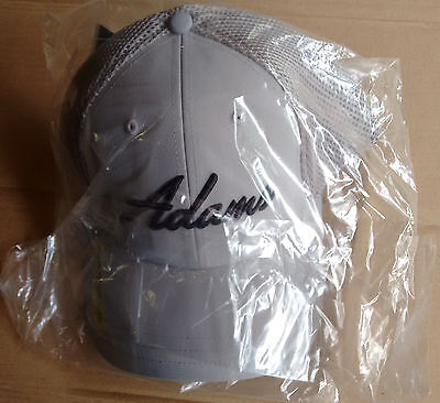 *BRAND NEW* Adams Idea Golf Tour hat/cap -GRAY- L/XL size