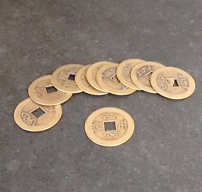 Chinese Coins - Feng Shui - Good Fortune - Protection - Luck