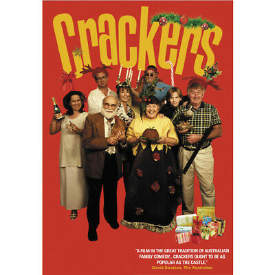 CRACKERS = MAGGIE KING TERRY GILL = POPULAR AS THE CASTLE = DVD(Australian Shipp