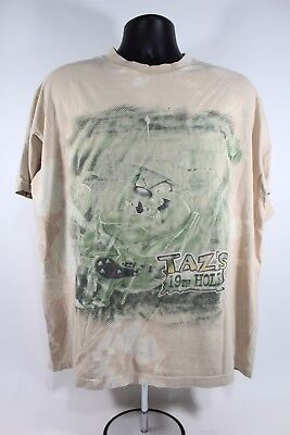Vintage 1997 TASMANIAN DEVIL Taz's 19th Hole Shirt Looney Tunes Taz Warner Bros