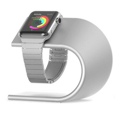 Apple Watch Stand Aluminium Premium Charging Dock Station Series 2 and 1- Silver