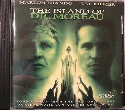 The Island of Dr. Moreau Gary Chang Soundtrack Film Score Music CD Milan
