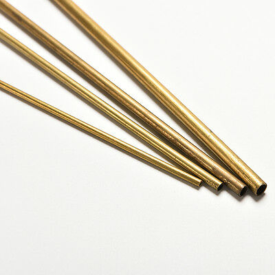 Brass Pipe Copper Pipe Copper Tube2mm 3mm 4mm 5mm Long 300mm Wall 0.5mm HI