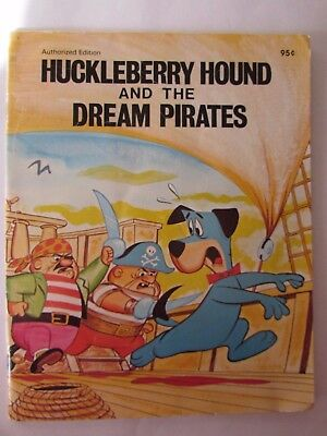 Huckleberry Hound And The Dream Pirates Hanna-Barbera PB 1972 Vintage