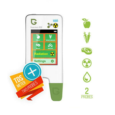 5 in 1 Fruit Meat Vegetable Nitrate Tester Eco Water Hardness Radiation Detector
