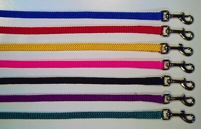 Soft Nylon Pet Puppy Lead/Leash for Small Dogs, Cats, Small Animals 10mm x 122cm