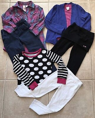 Girls Clothes Lot Size 6 6X Fall Winter Nice Pretty Outfits