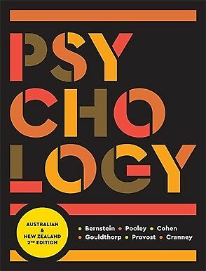 Psychology : Australia and New Zealand 2nd edition